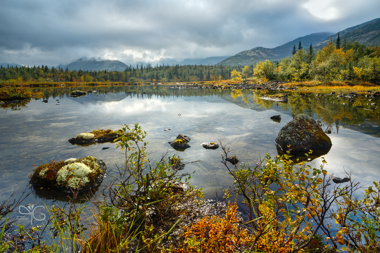 Перемена погоды на Полигональных озёрах
