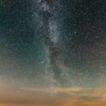 Млечный Путь, восходящий над островом Кильполансаари
