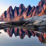 Хребет Оксхорнан | Okshornan ridge