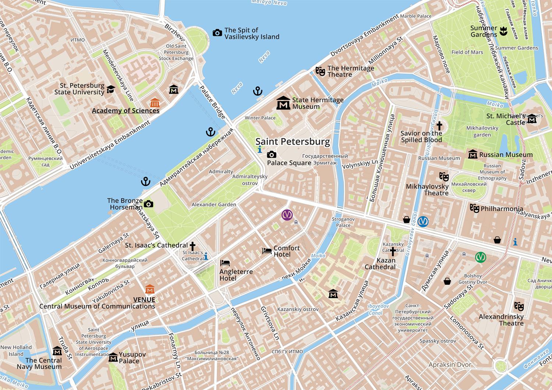 Map of Symposium Venue